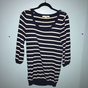 Nautical Forever 21 XXI Sweater with Detail